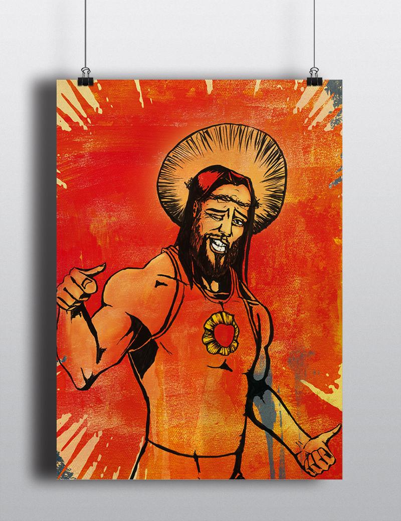 affiche musique et religion Idôle 2 réalisation da-conceicao.com