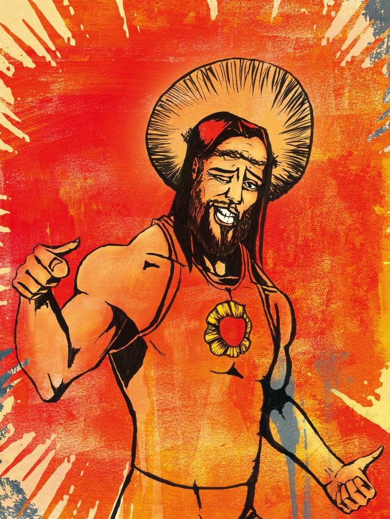 Affiche Musique et religion : Idôle 2 réalisation da-conceicao.com