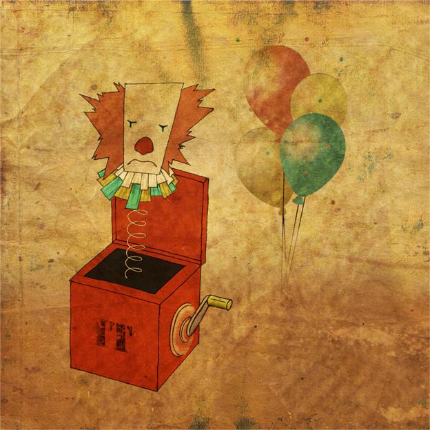 illustration pennywhise (IT), réalisation da-conceicao.com