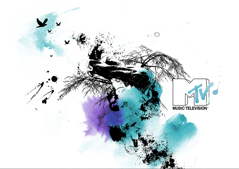 création d'illustrations MTV réalisation da-conceicao.com