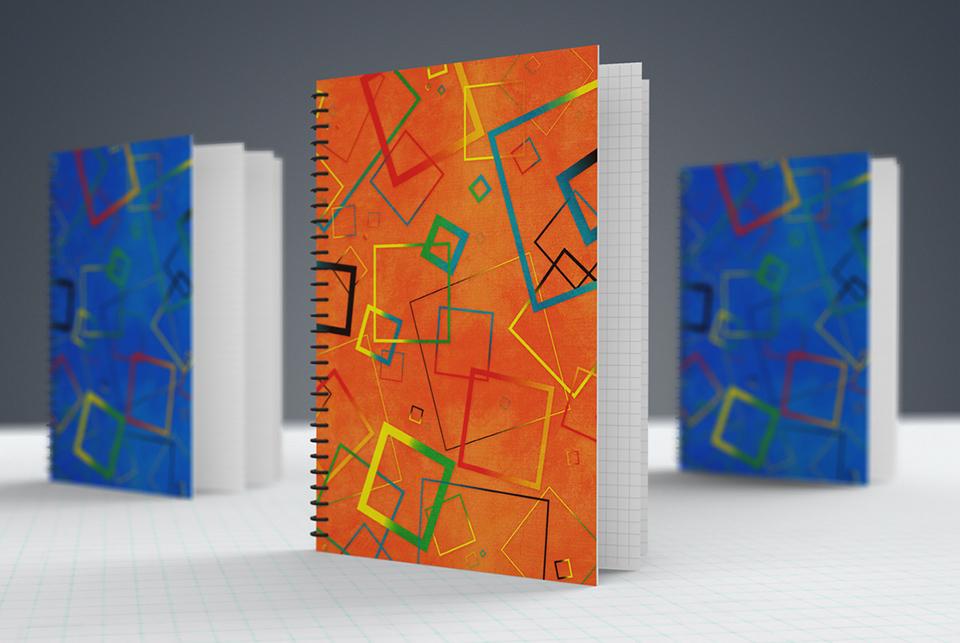 Porfolio da-conceicao.com : couverture de cahier (notebook)