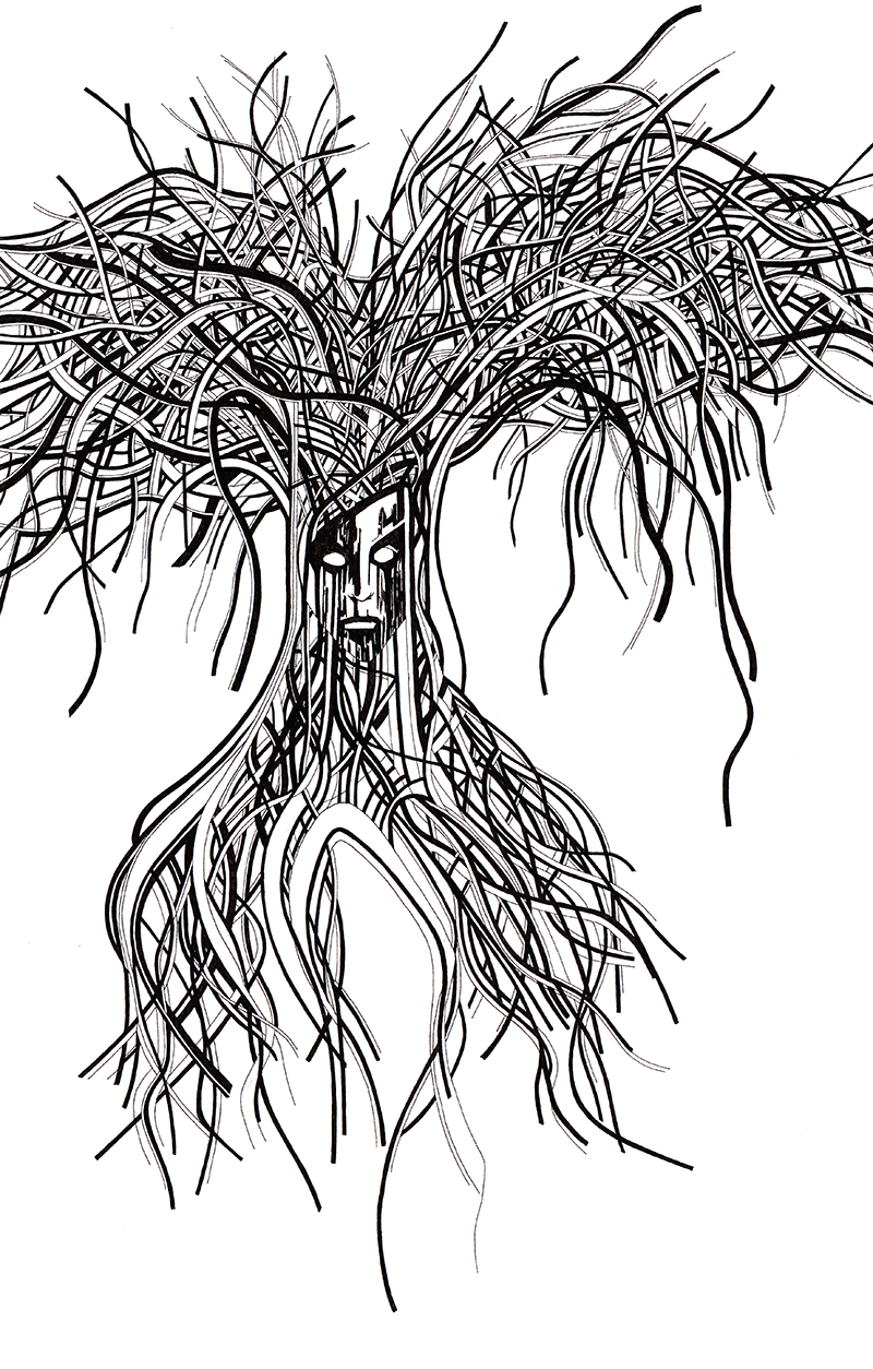 illustration Tree of life #2 réalisation da-conceicao.com