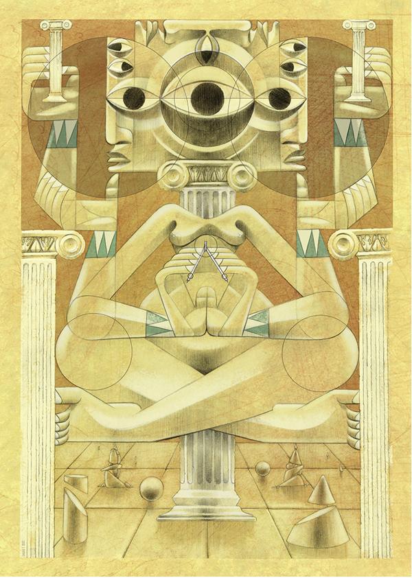 jorge Lewis l'illustrateur du spirituel - Jorges Lewis - Disoñador