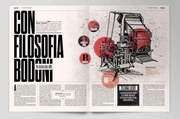 Boris Vargas Vasquez | Breviario Magazine - Editorial Design