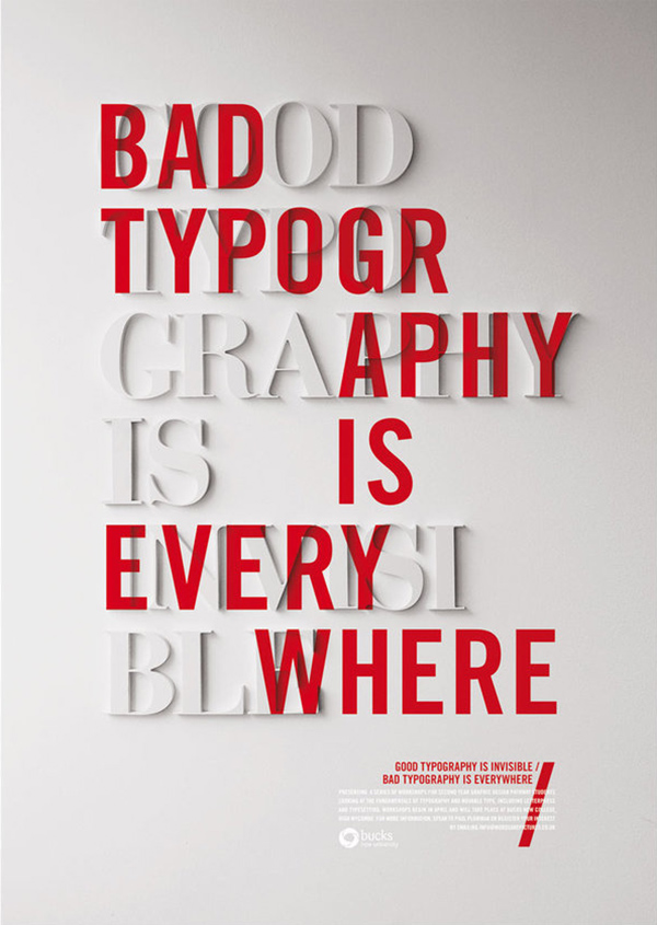 Craig Ward | good typography is invisible