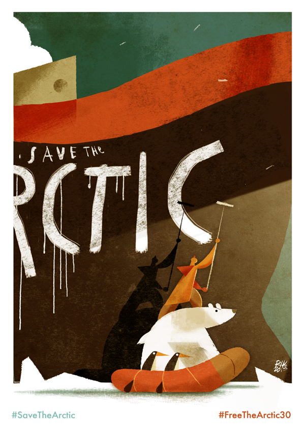 Riccardo Guasco Save The Arctic