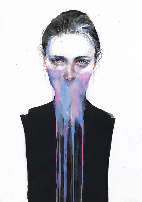 inspirations graphiques illustration agnes-cecile | my opinion about you