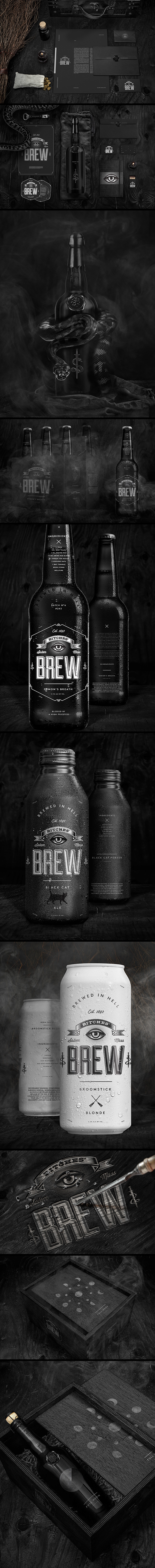 inspirations graphiques identity Wedge & Lever | Bitches brew