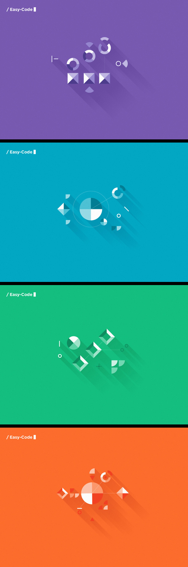 inspirations graphiques graphisme Tatalab   / Easy-Code_