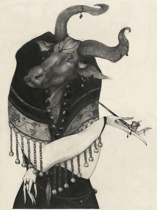 illustrations Lu Ke : les signes du zodiaque chinois