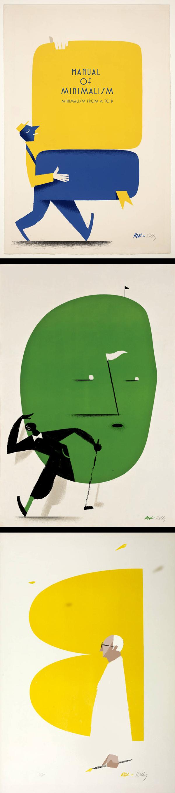 Inspirations graphiques #15 Riccardo Guasco | Minimalisms