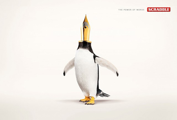 graphismes inspirations pub Twiga | Scrabble Words : Pen-guin