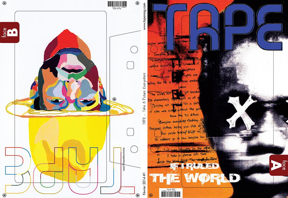 Magazine TAPE - réalisation da-conceicao.com