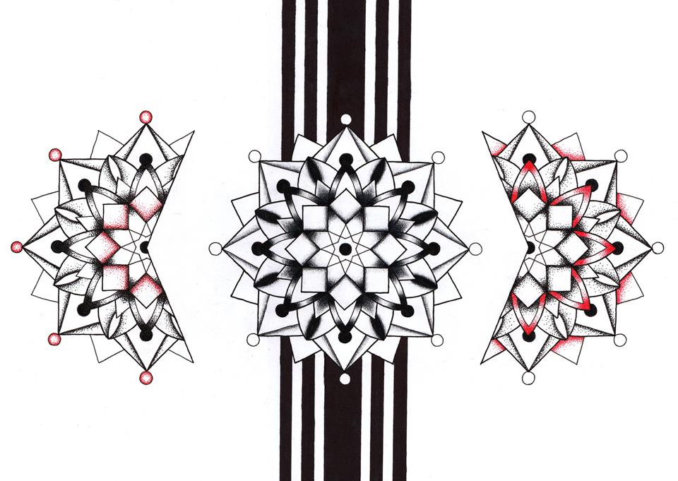 Mandalas illustration #1 - Portfolio da-conceicao.com