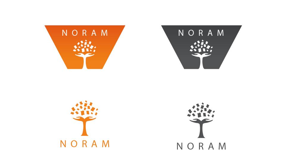 création du logotype Noram SARL E.A.P.I - portfolio da-conceicao.com