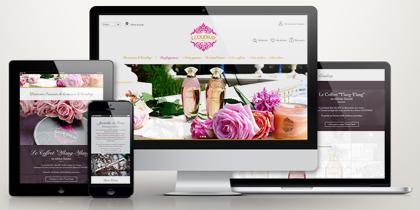 Site internet E.Coudray