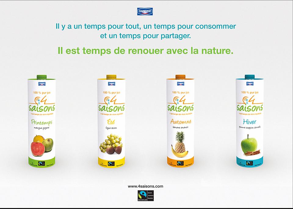 Porfolio da-conceicao.com : affiches projet : 4 saisons
