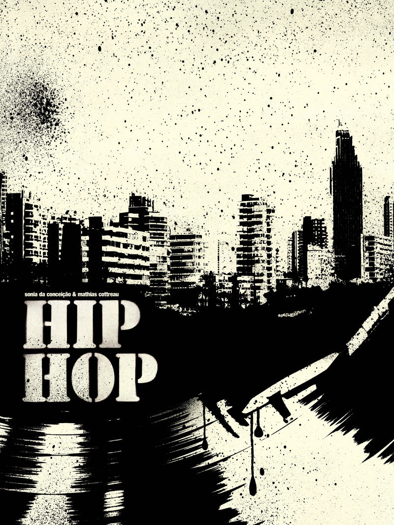 Porfolio da-conceicao.com : Affiches Hip-Hop : Peace, Unity and Have fun