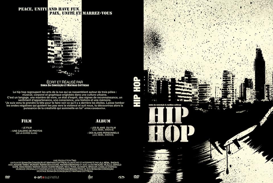 Porfolio da-conceicao.com : pochette dvd Hip-Hop : Peace, Unity and Have fun