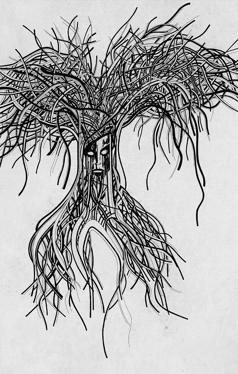 Illustration : Tree of life #2 da-conceicao.com