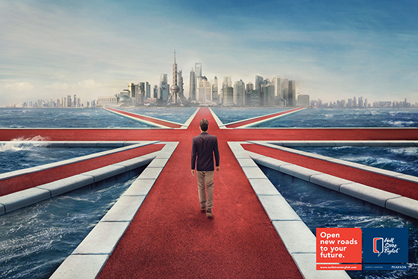 Advertising Agency: DLV BBDO, Milan, Italy | Wall Street English: Open New Roads To Your Future