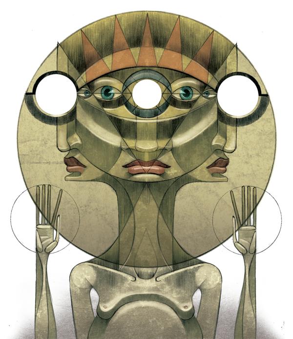 jorge Lewis l'illustrateur du spirituel - Jorges Lewis - Ojos de Perro