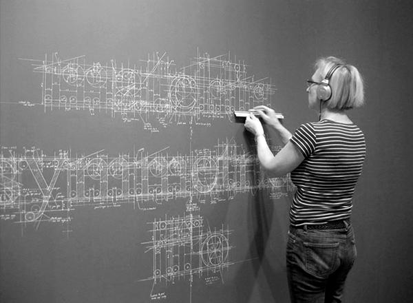 inspirations graphiques typographie : liz collini