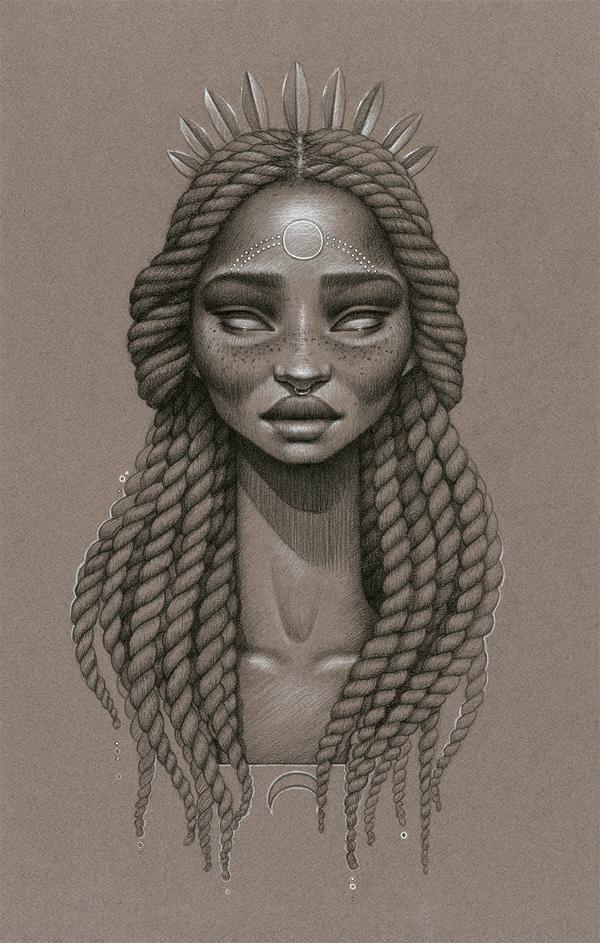 inspirations graphiques illustration Sara Golish | Moondust