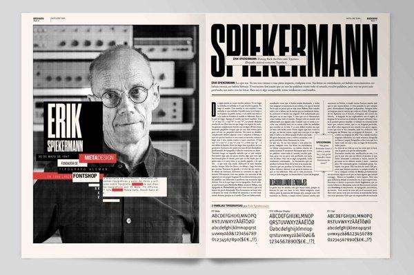 Boris Vargas Vasquez | Breviario Magazine - Editorial Design
