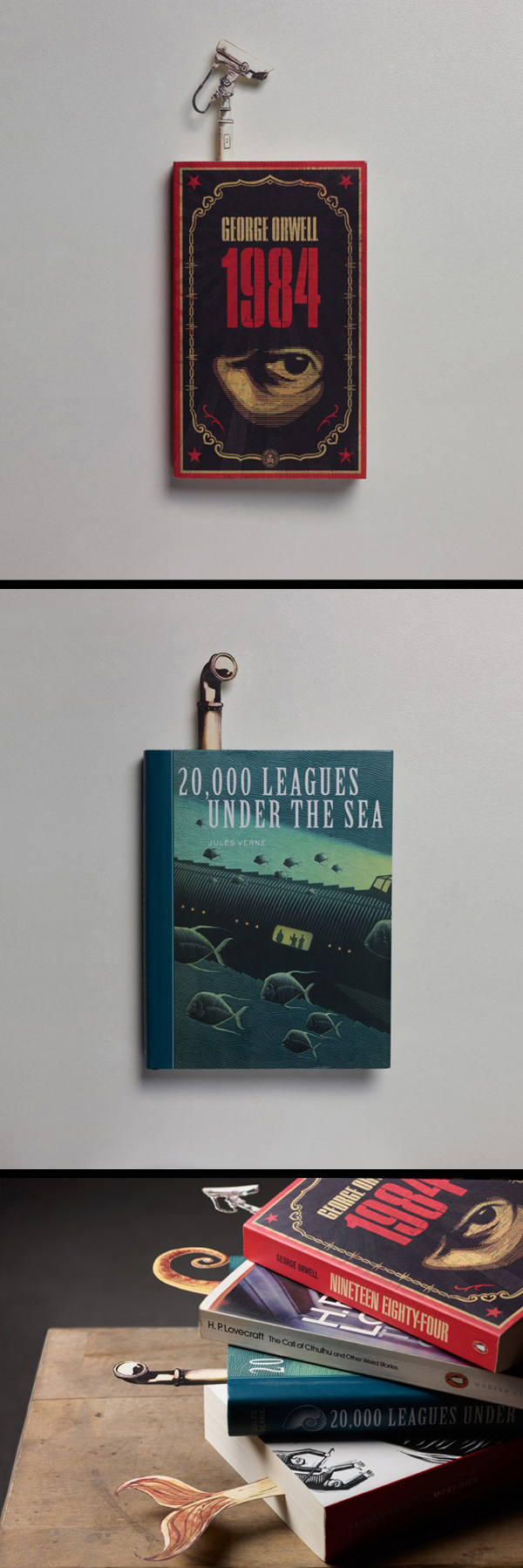 inspirations graphiques design bookmarks Gokhan Yuce | Bookmarks