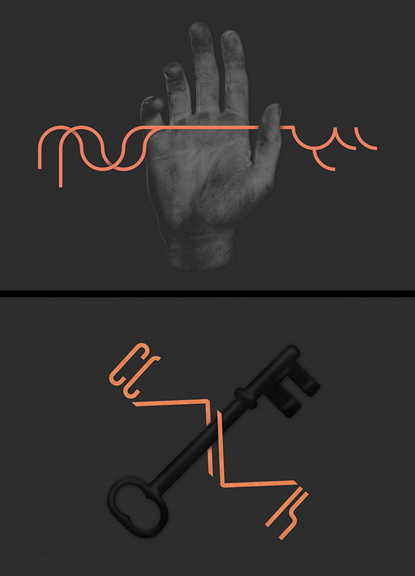 Inspirations graphiques design graphique : Rafael Bessa | Posters for TAIOM