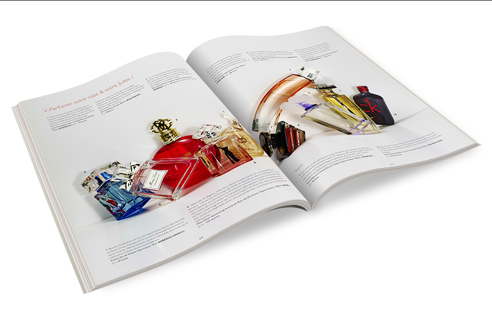 Porfolio graphiste freelance da-conceicao.com - prestige international magazine