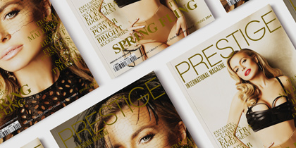 Prestige International Magazine – Spring 2014 – Europe & Middle East version