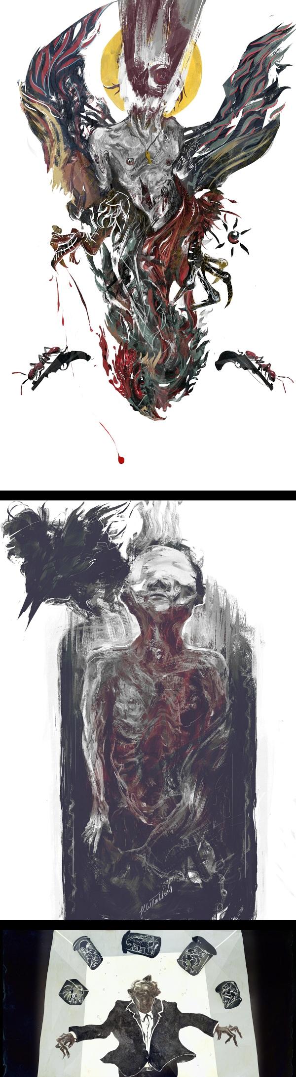 inspirations graphiques #13 Jędrzej Chełmiński | Illu set I