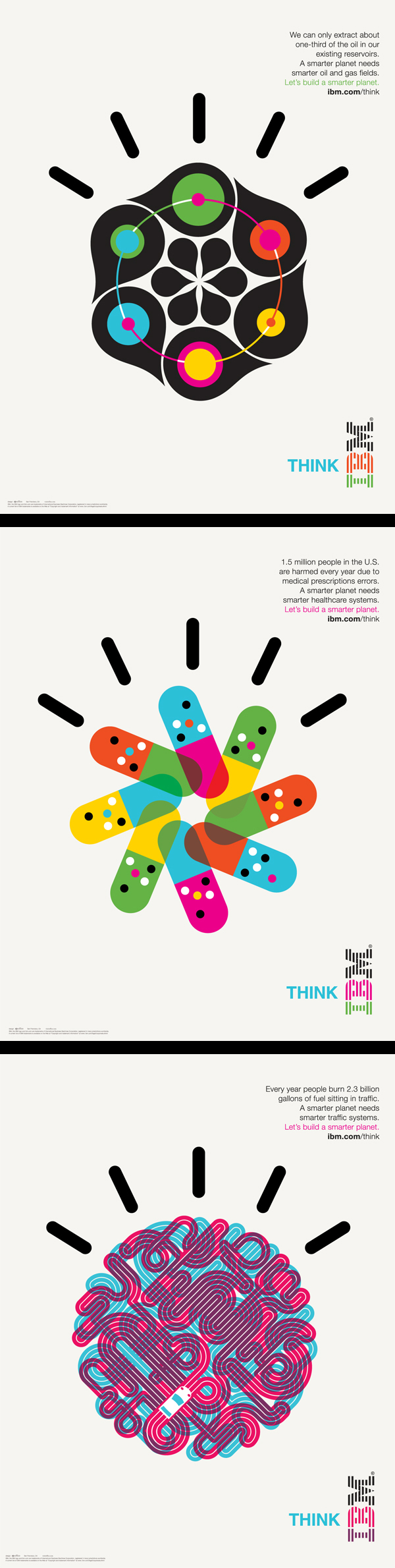 inspirations graphiques #13 Office | IBM Smarter Planet