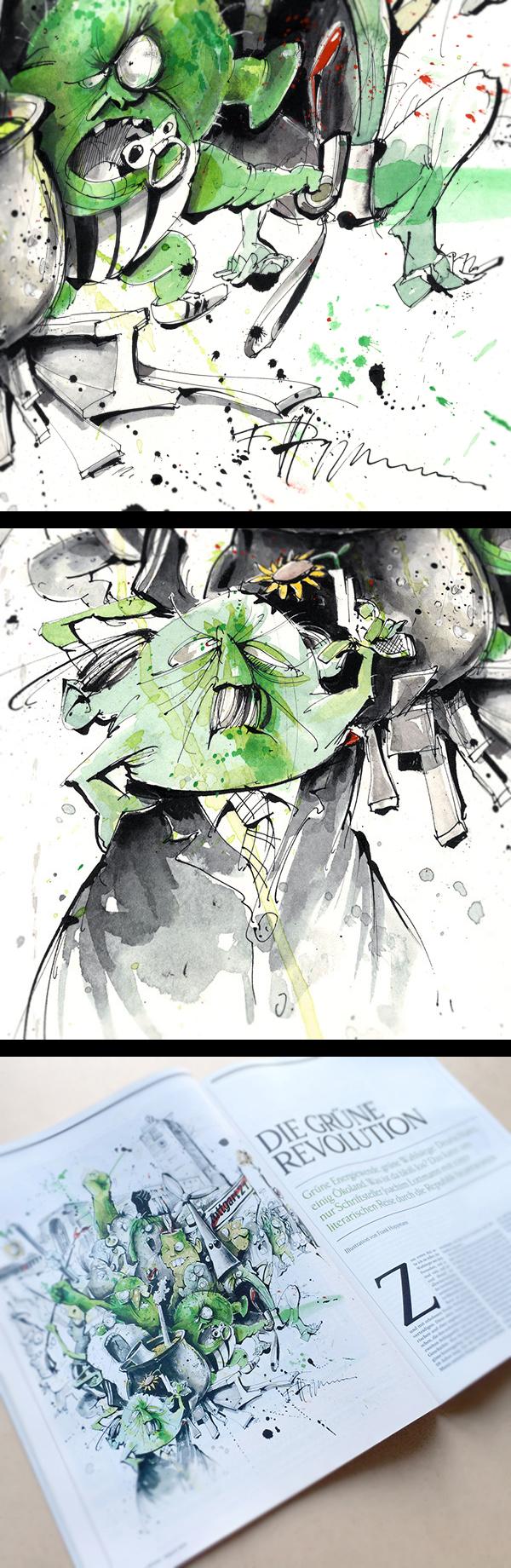 Frank Hoppmann | Rolling Stone magazin : DIE GRÜNE REVOLUTION/THE GREEN REVOLUTION - 2011
