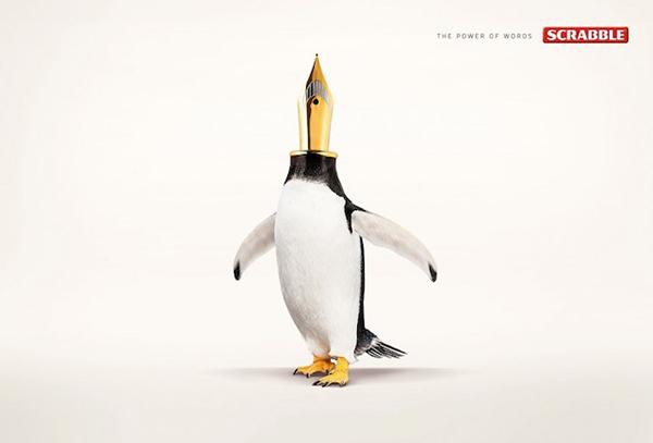 graphismes inspirations pub Twiga | Scrabble Words : Pen-guin