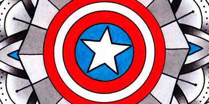 Mandalas super héros