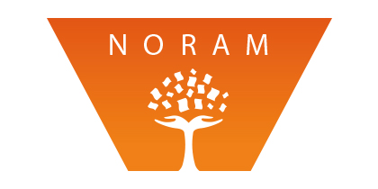 Création du logotype Noram et des couvertures de cahiers