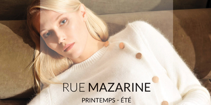 Catalogue (Workbook) Rue Mazarine – Printemps – Été 2019